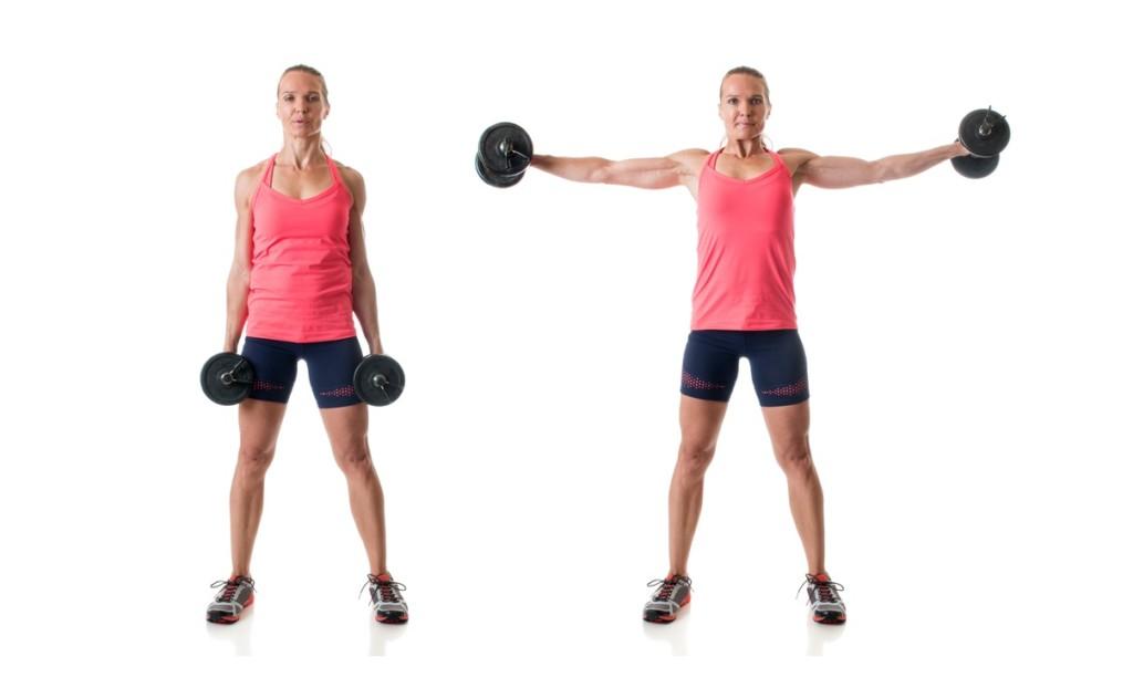 サイドレイズの正しいやり方・7つのコツ!肩に効率よく効かせる方法を解説
