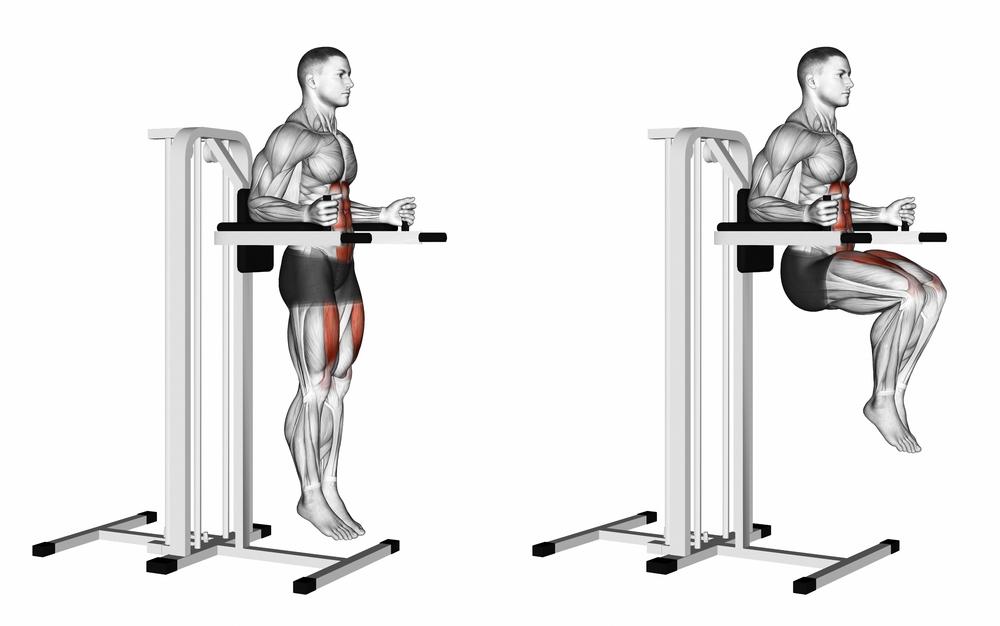 ニーレイズのやり方と5つのポイント!腹筋下部と腸腰筋の筋トレ